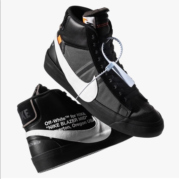 57002ae5 Off-White Shoes   Nike Off White Blazer Mid Grim Reaper Size 12 ...